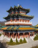 Buddhist temple at the Heavenly Mountain. Stock Photography