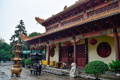 Buddhist temple Hongfa Royalty Free Stock Images