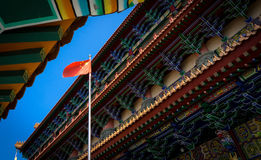 Buddhist temple in HongKong, China. Asia Stock Photo