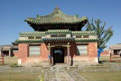 Buddhist Temple In Mongolia Stock Photo