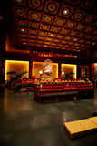 Buddhist Temple Interior Stock Images