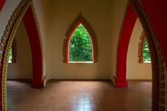 Buddhist temple interior Stock Photography