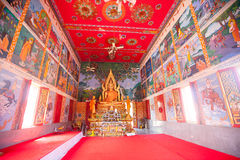 Buddhist temple in island koh Samui, Thailand. Royalty Free Stock Images