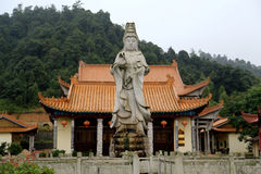 The Buddhist temple in Jianning county,Fujian, China Royalty Free Stock Photography