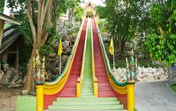 Buddhist temple in Kanchanaburi Stock Photography