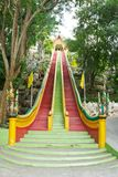 Buddhist temple in Kanchanaburi Royalty Free Stock Images