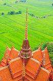 Buddhist temple in Kanchanaburi Stock Photos