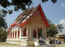 Buddhist temple. Temple in Koh Samui Thailand Stock Photography