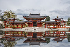 Buddhist temple in Kyoto, Japan. Byodo-in Buddhist temple in Uji, Kyoto, Japan Stock Image