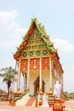 Buddhist temple in Laos. royalty free stock photo