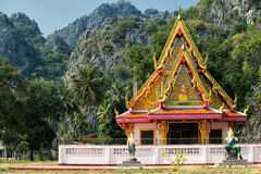 Buddhist temple in Sam Roi Yot National Park Stock Images