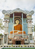 Buddhist temple Lion's mouth in Negombo Royalty Free Stock Images