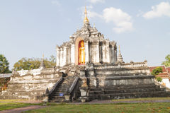 Buddhist temple. In Lmaphun Thailand Royalty Free Stock Images