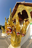 Buddhist Temple in Luang Prabang Stock Photos