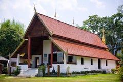Buddhist temple at Maehongson Royalty Free Stock Photos