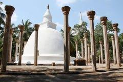Buddhist temple Mihintale Sri Lanka. Buddhist temple on Mango plateau. Mihintale Sri Lanka Royalty Free Stock Photography