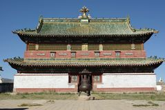 Buddhist temple in Mongolia Stock Images