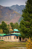 Buddhist temple in the mountains Royalty Free Stock Photos