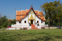 Buddhist temple in Mueang Boran Stock Images