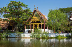 Buddhist temple in Mueang Boran Royalty Free Stock Image