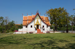 Buddhist temple in Mueang Boran Stock Photography