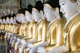 Buddhist Temple Myanmar Stock Photo