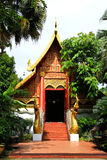 Buddhist temple named Wat Phra Kaew Royalty Free Stock Images