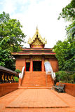 Buddhist temple named Wat Phra Kaew Stock Images