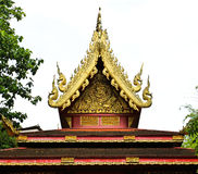 Buddhist temple named Wat Phra Kaew Stock Photos