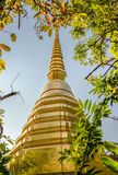 Buddhist temple named Wat Phra Kaew in Chiangrai province of Thailand Stock Images