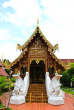 Buddhist temple named Wat Phra Singh Royalty Free Stock Photo