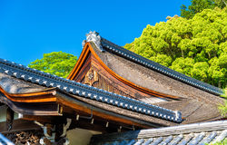 Buddhist temple in Nanzen-ji area - Kyoto Stock Image
