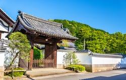 Buddhist temple in Nanzen-ji area - Kyoto Stock Images