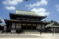 Buddhist temple, Narita, Japan Royalty Free Stock Photography