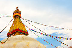Buddhist temple - Nepal Stock Photography