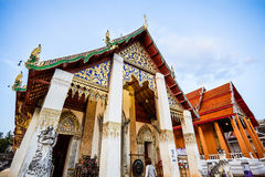 Buddhist temple in northern Thailand. Buddhist temple in northern Nan Thailand Stock Photo