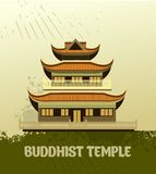 Buddhist Temple old Stock Image