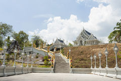 Buddhist Temple. Ornate Buddhist temple in Thailand Royalty Free Stock Photo