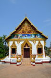 Buddhist temple in Pakse city in Laos Stock Images