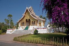 Buddhist temple in the palace grounds in Luang Prabang Stock Images