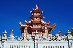 Buddhist temple in Phan Thiet, Southern Vietnam Stock Photography