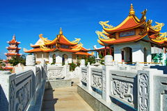 Buddhist temple in Phan Thiet, Southern Vietnam Royalty Free Stock Photography
