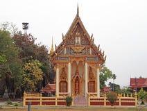 Buddhist temple in Phetchaburi, Thailand Royalty Free Stock Photos