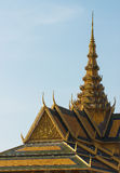 Buddhist temple in Phnom Penh Stock Image
