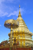 Buddhist Temple, Phra That Doi Suthep Royalty Free Stock Photography
