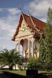 Buddhist Temple Phuket Side view Royalty Free Stock Photography