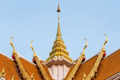 Buddhist Temple Roof Royalty Free Stock Photo
