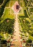 Buddhist temple. Buddhist temple in Royal Garden. Chiang Mai. Thailand. November 2017 stock photo