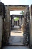 Buddhist temple ruins Stock Image