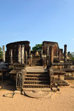 Buddhist temple ruins Royalty Free Stock Image